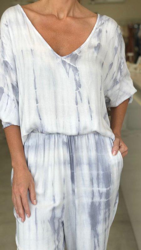 Vanessa V Neck Tie-Dye Top