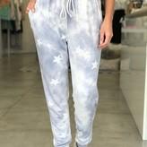 Willow Tie-Dye Star Print Jogger