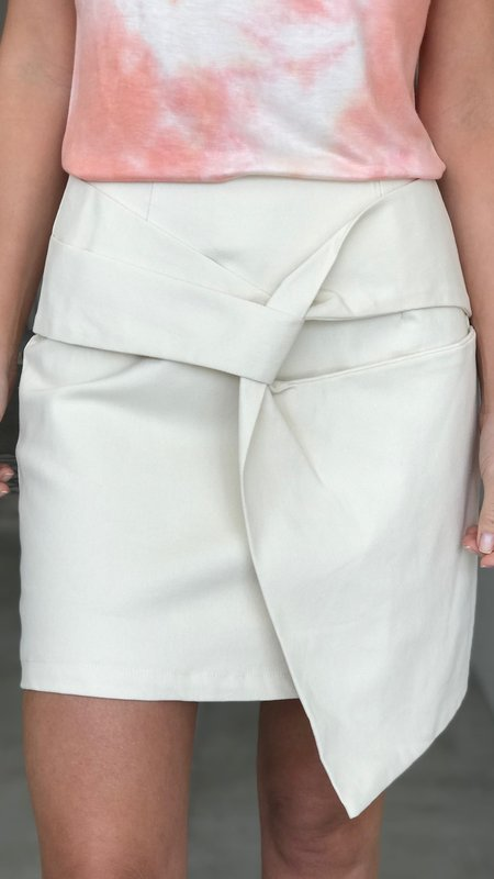 Emery Twist Detail Skirt