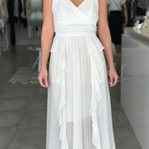 Athena Maxi Ruffle Dress