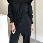 Sarai Long Sleeve Ruffled Jumpsuit