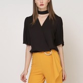 Luna Chocker Detail Blouse