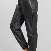 Ingrid Vegan Leather Joggers