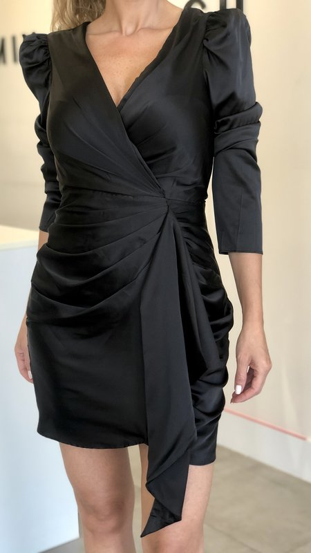 Zhavia Front Ruched Detail Dress
