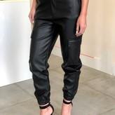 Ada Vegan Leather Cargo Pants