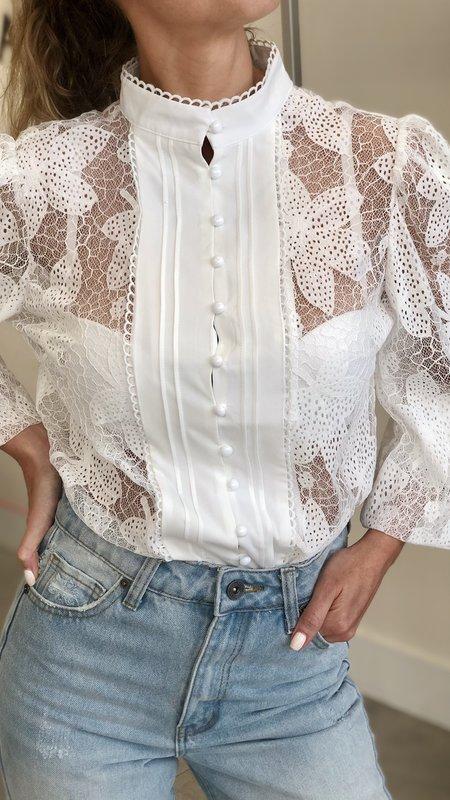 Esperanza Lace Detail blouse