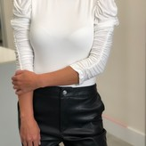 Ava Ruched Sleeve Bodysuit