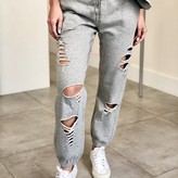 Lexi Distressed Jogger