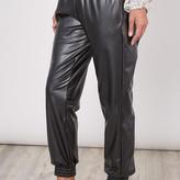 Tessie Vegan Leather Joggers