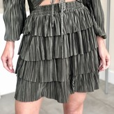 Lucky Pleated Mini Skirt