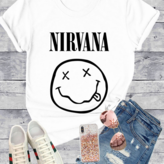 Nirvana Smile Graphic  tee