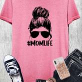 Mom Life Graphic Tee