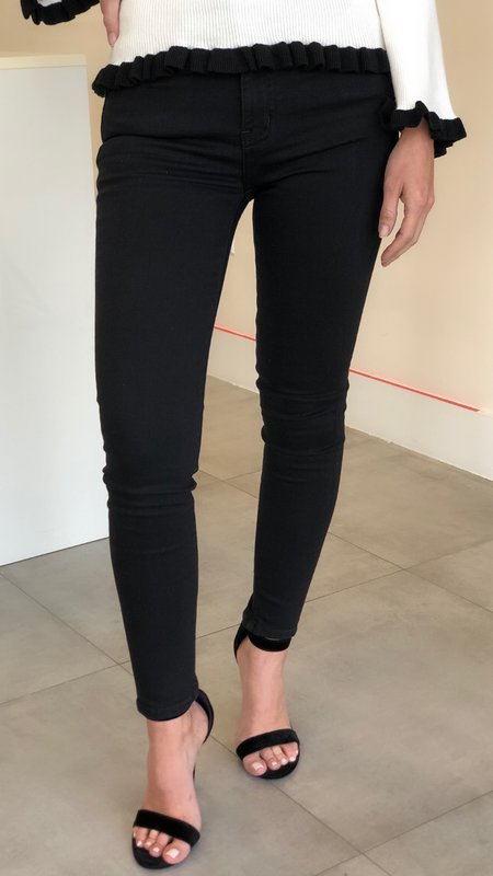 Kyra High Rise Ankle Skinny Denim