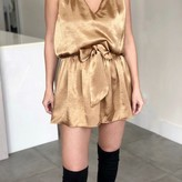 Bella Sleeveless Tie Waist Dress