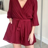 Faith Long Sleeve  Romper