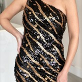 Kendal One Shoulder Sequin Dress