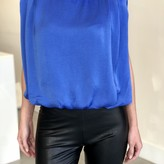Tracy Round Neck Sleeveless Blouse