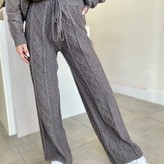 Deela Twist Pattern Knit Pants
