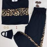 Freya Leopard Print Jogger Set ( 2 Pieces)