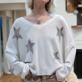 Ada Sweater Top with Star Details