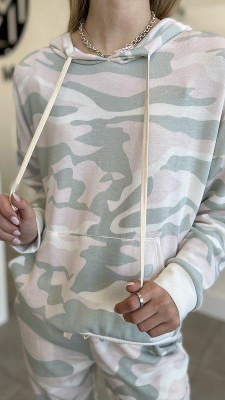 Kella Camouflage Hoodie