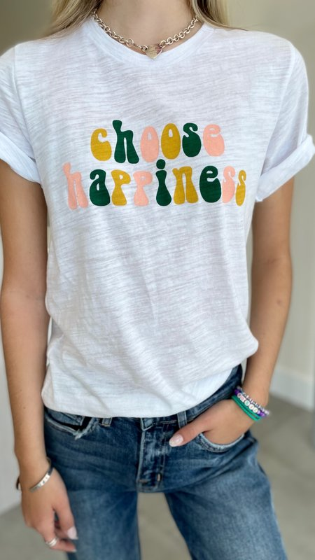Choose Happiness Graphic Tee