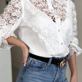 Lacey Long-Sleeve Blouse