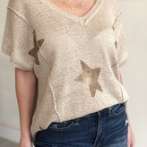 Kethia Star Sleeveless Knit Top