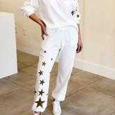 Kali Star Print Detail Soft Fabric Top