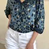 Senna Cheetah Print Long Sleeve Top