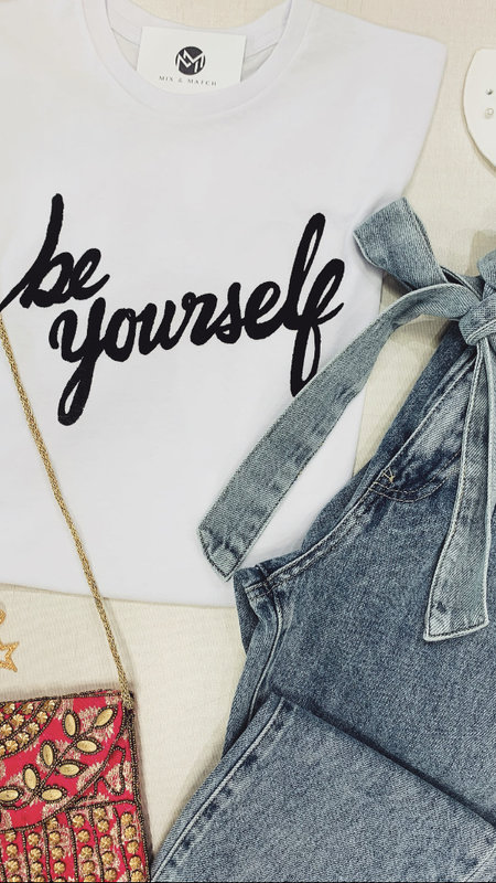 """Be Yourself"" Graphic Tee"