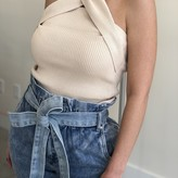 Ashley Criss-Cross Halter Top