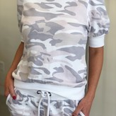 Rony French Terry Puff Short Sleeve Top