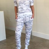 Tuhin Pastel Camo French Terry Jogger
