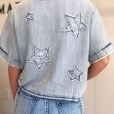 Suhana Denim  Shirt With Stars
