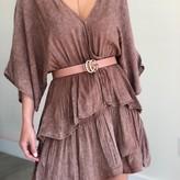 Pheby Ruffle Layers Dress