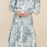 Mahely Long Sleeve Maxi Dress