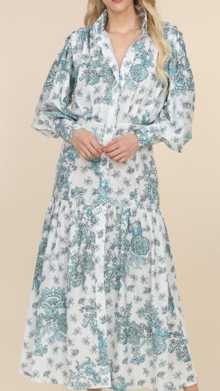 Mahely Long Sleeve Maxi Dress