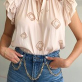 Lorely Ruffle Sleeve Blouse