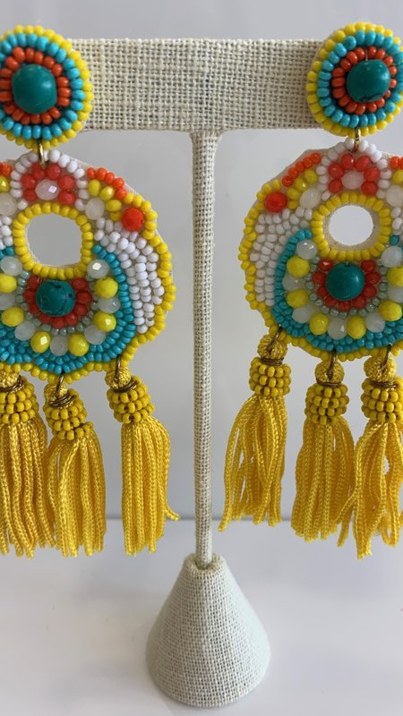 Caro Tassel Earrings