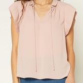 Aviva Pleated Collar Blouse