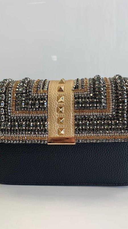 Valentina Rhinestone Detail Bag