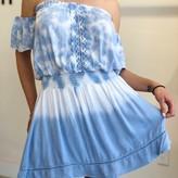 Lorelay Crochet Detail Dip Dye Dress