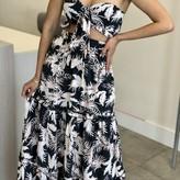 Oriana Floral Maxi Skirt Set (2 pieces)