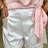 Claricia Zebra Print Shorts