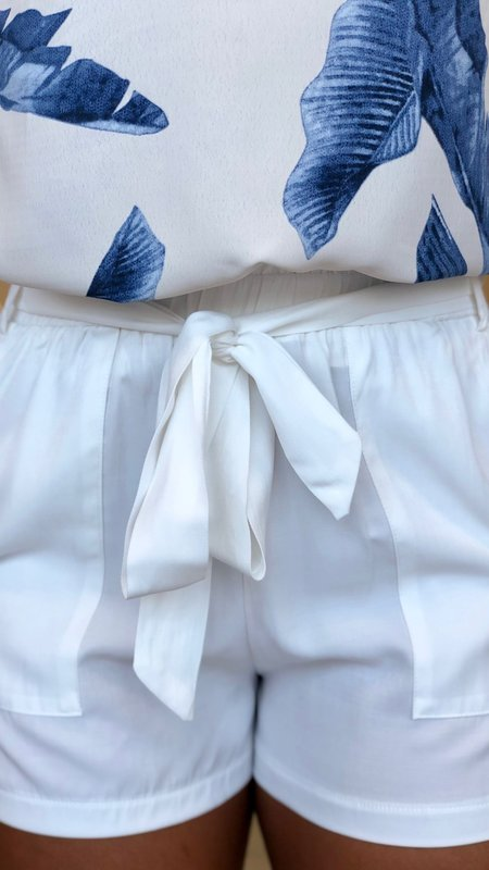 Candace Belted Shorts