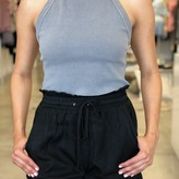 Jana Drawstring Ruffled Shorts