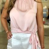 Marci Front Tie Blouse