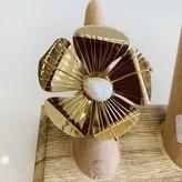 Perla Flower Adjustable Ring