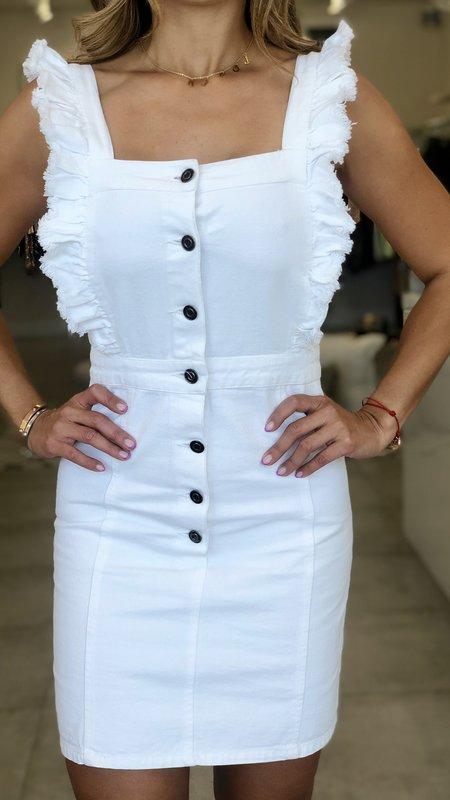 Amelie Button Up Denim Dress